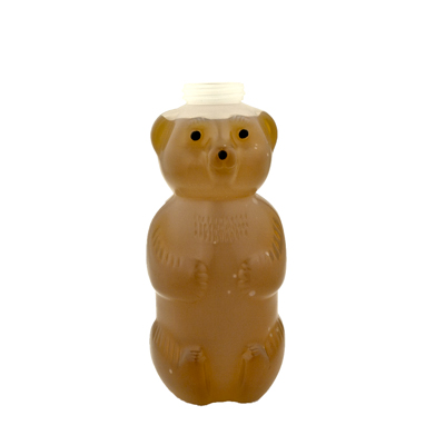 32 oz. LDPE Honey Bear Bottle with 38/400 Neck (Cap Sold Separately)