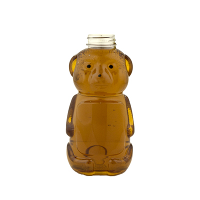 32 oz. PET Honey Bear Bottle with 38/400 Neck (Cap Sold Separately)