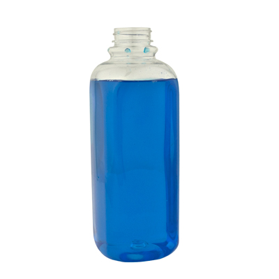 16 oz. Square PET Bottle with 38/400 Neck  (Cap Sold Separately)