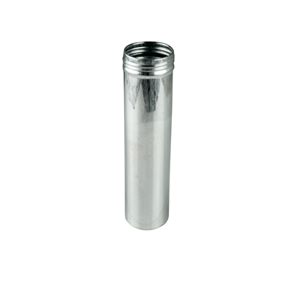 "1.5"" x 6.375"" x 6.5 oz. Aluminum Screw Top Can (Cap Sold Separately)"