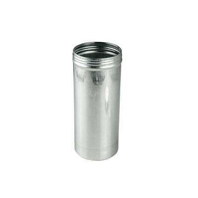 "2.5"" x 6"" x 15.3 oz. Aluminum Screw Top Can (Cap Sold Separately)"