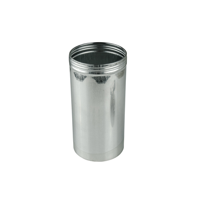 "3"" x 6"" (21.7 oz.) Aluminum Screw Top Can (Cap Sold Separately)"