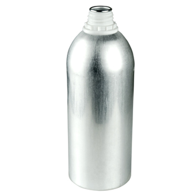 1100mL Industrial Aluminum Bottle (Cap Sold Separately)