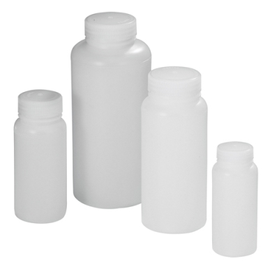 8 oz. Precisionware™ HDPE Wide Mouth Bottle with Cap