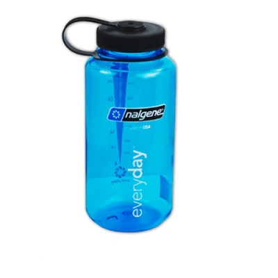 Blue 32 oz. Nalgene® Tritan™ Wide Mouth Loop-Top Bottle