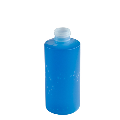 6 oz. Natural HDPE Cylinder Bottle with 24/410 Neck & Straight Bottom(Cap Sold Separately)