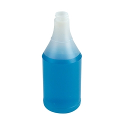 24 oz. Round Spray Bottle with 28/400 Neck (Sprayer Sold Separately)