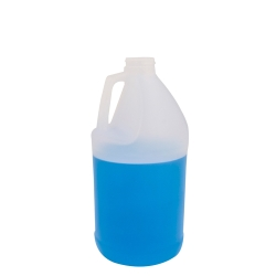 1/2 Gallon Round Translucent Jug with 38/400 Neck (Cap Sold Separately)