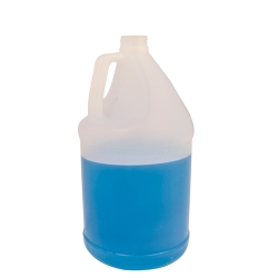 1 Gallon Round Translucent Jug with 38/400 Neck (Cap Sold Separately)