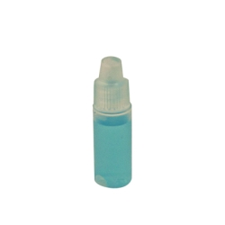 3mL Natural Cylinder Bottle with 8mm Dropper Cap