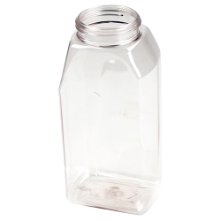 32 oz. Clear PET® Megapack Spice Jar with 63/485 Neck (Cap Sold Separately)