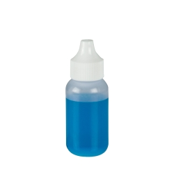 30mL Natural Boston Round Bottle with 20mm Dropper Cap