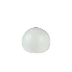 18/415 White Ball Style Cap