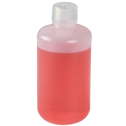 8 oz./250mL Nalgene™ Narrow Mouth HDPE Economy Bottles