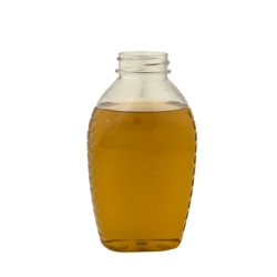 16 oz. Oval PET Honey Jar with 38/400 Neck  (Cap Sold Separately)