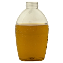 32 oz. Oval PET Honey Jar with 38/400 Neck  (Cap Sold Separately)