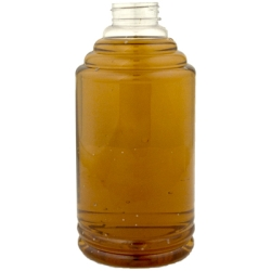 48 oz. (Honey Weight) PET Skep Bottles with a 38/400 Neck (Cap Sold Separately)