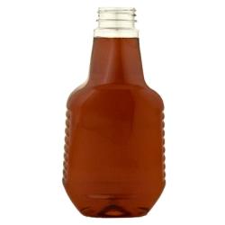 32 oz. Honey/26 oz. Sauce PET Bottle with 38/400 Neck  (Cap Sold Separately)