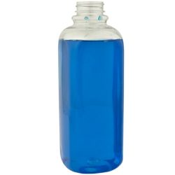 32 oz. Clear PET French Square Bottle with 38/400 Neck  (Cap Sold Separately)