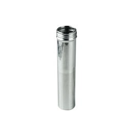 "1"" x 5"" x 2.6 oz. Aluminum Screw Top Can (Cap Sold Separately)"