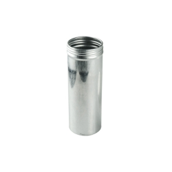 "2"" x 5.50"" x 8.8 oz. Aluminum Screw Top Can (Cap Sold Separately)"