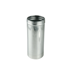 "2.5"" x 6"" x 15.3 oz. Aluminum Screw Top Can (Cap Sold Separately)"