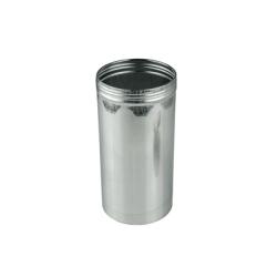 """3"""" x 6"""" (21.7 oz.) Aluminum Screw Top Can (Cap Sold Separately)"""