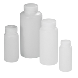 16 oz. Precisionware™ HDPE Wide Mouth Bottle with Cap
