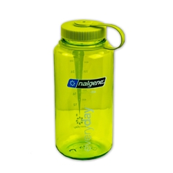 Spring Green 32 oz. Nalgene® Tritan™ Wide Mouth Loop-Top Bottle