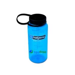 Slate Blue 16 oz. Nalgene® Tritan™ Wide Mouth Loop-Top Bottle