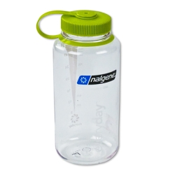 Clear 32 oz. Nalgene® Tritan™ Wide Mouth Loop-Top Bottle