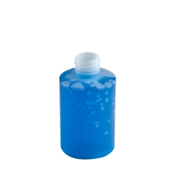4 oz. Natural HDPE Cylinder Bottle with 24/410 Neck & Straight Bottom(Cap Sold Separately)