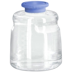 1000mL Polycarbonate Sterile Bottles with Polypropylene Caps