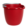 Sterilite® Red 10 Quart Spout Pail with Handle