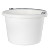 White 8 Quart Pail