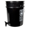 Premium Black 5 Gallon Tamco® Modified Bucket with Spigot