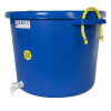 17-1/2 Gallon Blue Multi-Purpose Bucket with Spigot