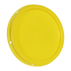 Yellow Tear Tab Lid for 1 Gallon Buckets