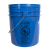Blue 4 Gallon Bucket (Lid Sold Separately)
