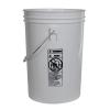 Economy White 6 Gallon Bucket (Lid Sold Separately)