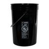 Economy Black 6 Gallon Bucket (Lid Sold Separately)