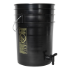 Premium Black 6 Gallon Tamco® Modified Bucket with Spigot