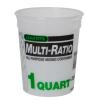 1 Quart HDPE Multi-Ratio Container (Lid Sold Separately)