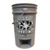 Gray Foot In-No Spin 5 Gallon Bucket