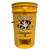 Yellow Foot In, No Spin 5 Gallon Bucket