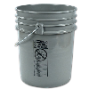 Letica® Premium Gray 5 Gallon Bucket