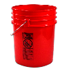 Letica® Premium Red 5 Gallon Bucket