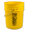 Letica® Premium Yellow 5 Gallon Bucket