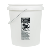 Economy White 5 Gallon Bucket