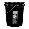 Economy Black 5 Gallon Bucket